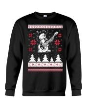 Bassist Ugly Christmas Sweatshirt Crewneck Sweatshirt front