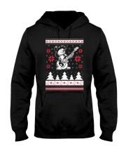 Bassist Ugly Christmas Sweatshirt Hooded Sweatshirt thumbnail