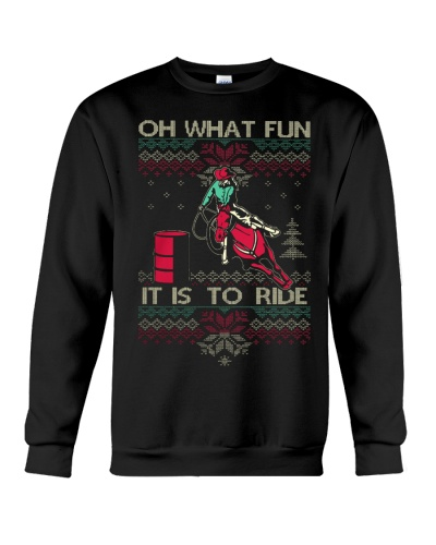 BARREL RACING CHRISTMAS Sweater