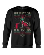 BARREL RACING CHRISTMAS Sweater Crewneck Sweatshirt tile