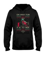 BARREL RACING CHRISTMAS Sweater Hooded Sweatshirt thumbnail