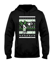Boston Terrier Lovers Shirt - Christmas Sweater Hooded Sweatshirt thumbnail