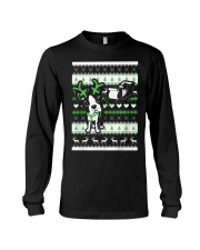 Boston Terrier Lovers Shirt - Christmas Sweater Long Sleeve Tee thumbnail