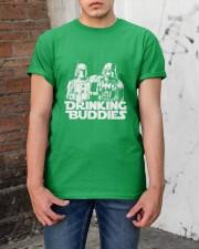 SW Drinking Buddies Patricks Day Limited Edition  Classic T-Shirt apparel-classic-tshirt-lifestyle-31