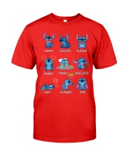 Stitch Ohana Emoticon Limited Edition T Shirt Classic T-Shirt tile