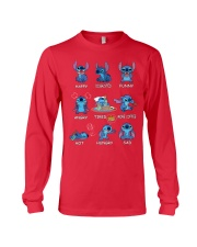 Stitch Ohana Emoticon Limited Edition T Shirt Long Sleeve Tee thumbnail