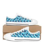 Cute Pattern Limited Edition Women's Low Top White Shoes thumbnail