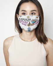 Madea Cough one more damn time face mask 2 Layer Face Mask - Single aos-face-mask-2-layers-lifestyle-front-02