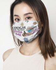 Madea Cough one more damn time face mask 2 Layer Face Mask - Single aos-face-mask-2-layers-lifestyle-front-03