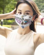 Madea Cough one more damn time face mask 2 Layer Face Mask - Single aos-face-mask-2-layers-lifestyle-front-09