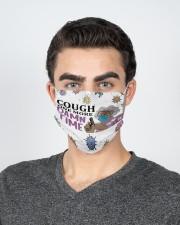 Madea Cough one more damn time face mask 2 Layer Face Mask - Single aos-face-mask-2-layers-lifestyle-front-20