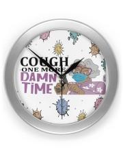 Madea Cough one more damn time face mask Wall Clock thumbnail