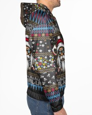 Viking deck the halls with skulls and bodies Men's All Over Print Hoodie aos-complex-men-hoodie-lifestyle-right-01