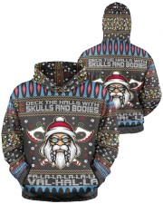 Viking deck the halls with skulls and bodies Men's All Over Print Hoodie aos-men-hoodie-ghosted-front-04