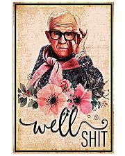 Flower well shit poster 11x17 Poster front