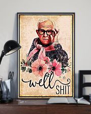Flower well shit poster 11x17 Poster lifestyle-poster-2