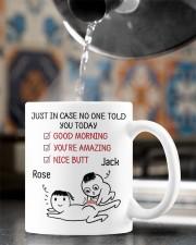 just in case no one told you today mug  Mug ceramic-mug-lifestyle-64