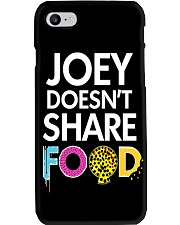 Joey doesn't share food phone case Phone Case i-phone-8-case