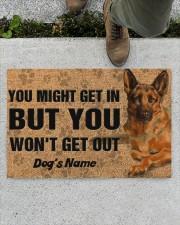"""Pesonalized German Shepherd you might get in  Doormat 22.5"""" x 15""""  aos-doormat-22-5x15-lifestyle-front-01"""