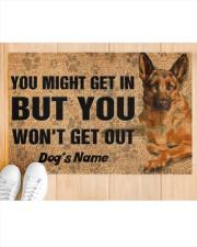 """Pesonalized German Shepherd you might get in  Doormat 22.5"""" x 15""""  aos-doormat-22-5x15-lifestyle-front-03"""