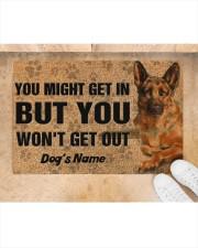 """Pesonalized German Shepherd you might get in  Doormat 22.5"""" x 15""""  aos-doormat-22-5x15-lifestyle-front-05"""