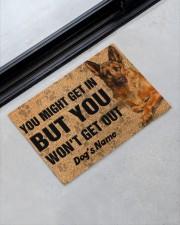 """Pesonalized German Shepherd you might get in  Doormat 22.5"""" x 15""""  aos-doormat-22-5x15-lifestyle-front-09"""