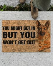 "German Shepherd you might get in doormat Doormat 22.5"" x 15""  aos-doormat-22-5x15-lifestyle-front-01"