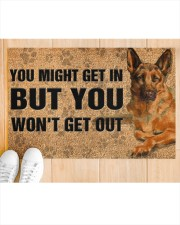 "German Shepherd you might get in doormat Doormat 22.5"" x 15""  aos-doormat-22-5x15-lifestyle-front-03"