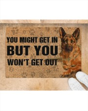 "German Shepherd you might get in doormat Doormat 22.5"" x 15""  aos-doormat-22-5x15-lifestyle-front-05"