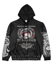 Viking Hello Darkness My Old Friend Valhalla  Women's All Over Print Hoodie thumbnail