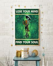 Skull accordion lose your mind find soul poster 11x17 Poster lifestyle-holiday-poster-3