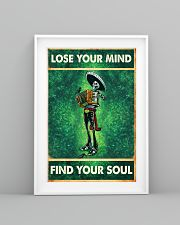 Skull accordion lose your mind find soul poster 11x17 Poster lifestyle-poster-5