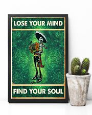 Skull accordion lose your mind find soul poster 11x17 Poster lifestyle-poster-8