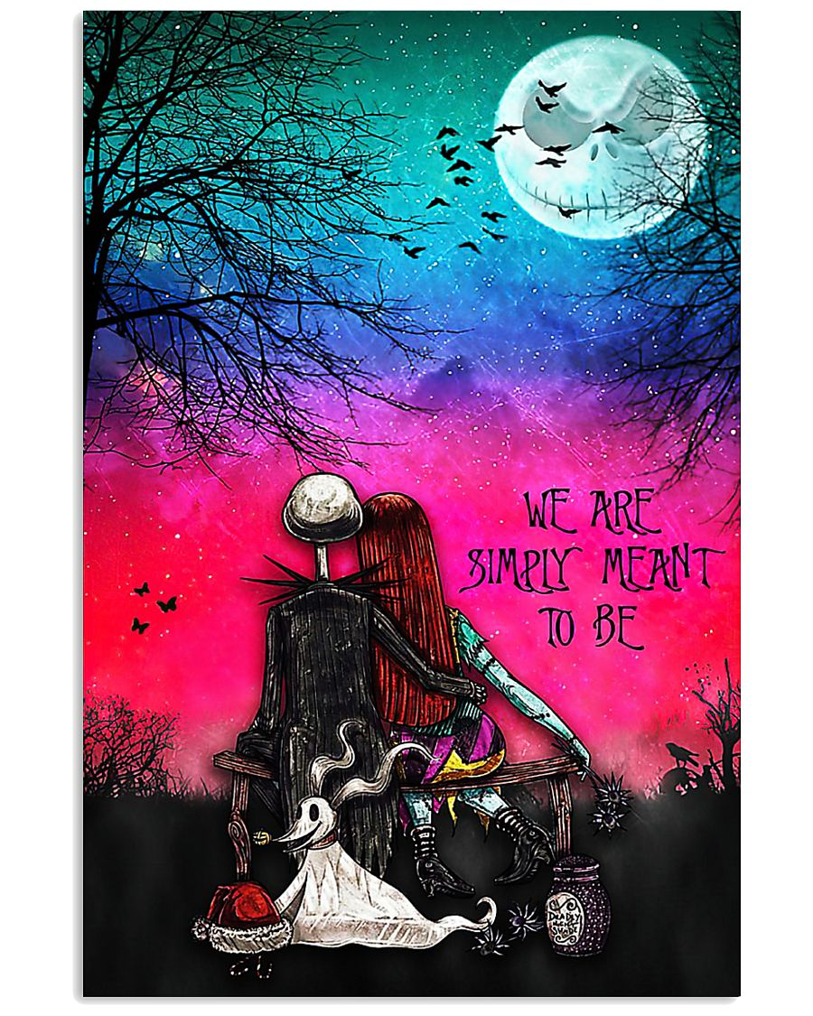 Nightmare christmas we're simply meant to be 11x17 Poster