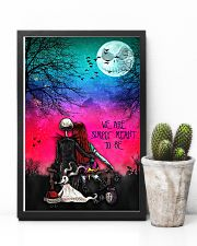 Nightmare christmas we're simply meant to be 11x17 Poster lifestyle-poster-8