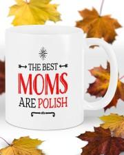 The best mom are polish mug Mug ceramic-mug-lifestyle-11