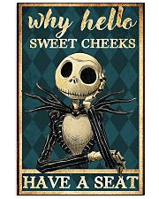 Jack why hello sweet cheeks have a seat poster 11x17 Poster front