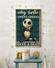 Jack why hello sweet cheeks have a seat poster 11x17 Poster lifestyle-holiday-poster-3