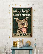 Pitbull why hello sweet cheeks have a seat poster 11x17 Poster lifestyle-holiday-poster-3