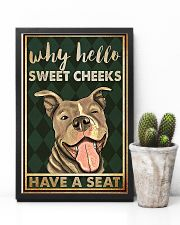 Pitbull why hello sweet cheeks have a seat poster 11x17 Poster lifestyle-poster-8