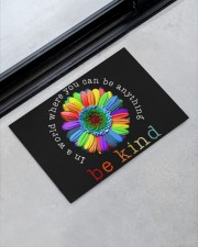 """In a world where you can be anything doormat Doormat 22.5"""" x 15""""  aos-doormat-22-5x15-lifestyle-front-09"""