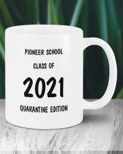 Pioneer school class of 2021 quarantine mug Mug ceramic-mug-lifestyle-05