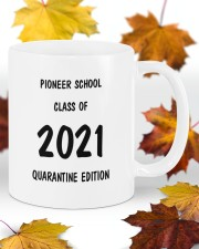 Pioneer school class of 2021 quarantine mug Mug ceramic-mug-lifestyle-11