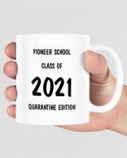 Pioneer school class of 2021 quarantine mug Mug ceramic-mug-lifestyle-40