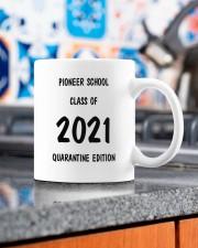 Pioneer school class of 2021 quarantine mug Mug ceramic-mug-lifestyle-53