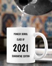 Pioneer school class of 2021 quarantine mug Mug ceramic-mug-lifestyle-64