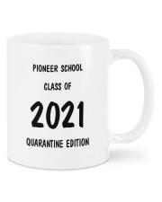 Pioneer school class of 2021 quarantine mug Mug front
