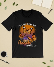 Butterfly I believe there are angels among us  Classic T-Shirt lifestyle-mens-crewneck-front-19