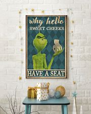 Why hello sweet cheeks have a seat poster 11x17 Poster lifestyle-holiday-poster-3