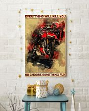 Ducati everything will kill you so poster 11x17 Poster lifestyle-holiday-poster-3